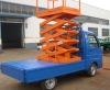 car-carrying scissor lift platform
