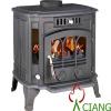 cast iron stove wood burning