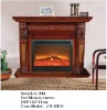 eropean style simulation flame electrical fireplace
