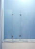 folding bath screen