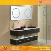 fresca bellezza espresso double sunken-sink bathroom vanity EM-AL8008