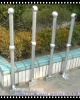 galvanized low carbon steel tube stand column