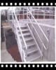 galvanized or painted mild steel or stainless steel marine ladder