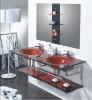 glass wash hand basins