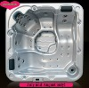 hot selling led lighting 5 seater 2 lounger 61 jets whirlpool tub S520