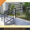 industry park galvanised steel handrail
