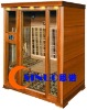 infrared sauna room .4person.carbon heater.CE.ETL.RoHS.TUV.ISO9001.Red cedar wood.