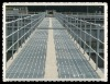low price and high quality metal pipe Post and rail fence