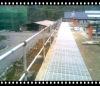 maintenance free mild steel or stainless steel pipe bridge railing
