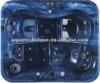 multi-fuctional bathtube massage system