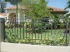 ornamental Wrought iron fence fencing railing balustrade