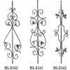 ornamental iron out railing prats