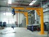 pillar swing arm crane