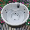 round  tub spa A400 with pop-up speaker