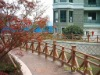 safety and beauty outdoor Handrail in wood-plastic composite material