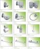 soap Dispenser holder,towel bar,tumbler holder