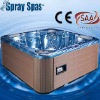 spa hot tub outdoor spa massage bathtub
