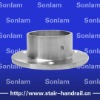 stainless steel handrail flange
