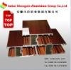 wooden grain aluminium sections