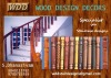 wooden stair case balusters