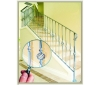 wrought iron balustrade---ETN R015
