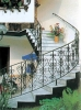 wrought iron stairs handrail