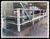 zinc coat metal pipe ball joint balustrade