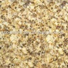 Yellow flamed granite tile